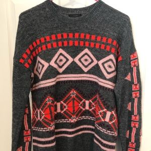 J Crew fairisle sweater